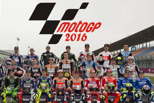Daftar Pembalap MotoGP 2016