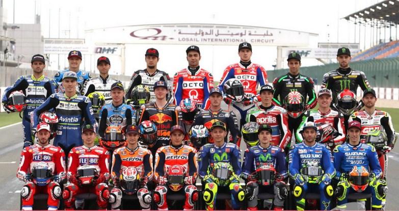 Daftar Rider MotoGP 2017